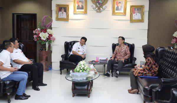 Wagub Kandouw Terima Kunjungan Konsuler Jepang di Makasar Katsutoshi Miyakawa