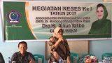 Ainun Talibo Reses di Bolangitang