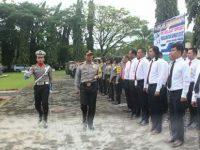 Polres Minsel Gelar Pasukan Ops Keselamatan Samrat-2018