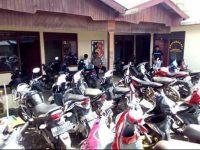 Polsek Modoinding Amankan 23 Unit Sepeda Motor di Sejumlah Sekolah