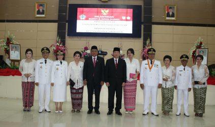 Gubernur Olly  Lantik 2 Kepala Daerah' Sangihe dan Bolmong