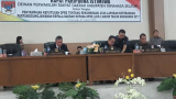 Terkait Penyampaian Keputusan DPRD Tentang Rekomendasi LKPJ 2017, DPRD Minsel Gelar Paripurna